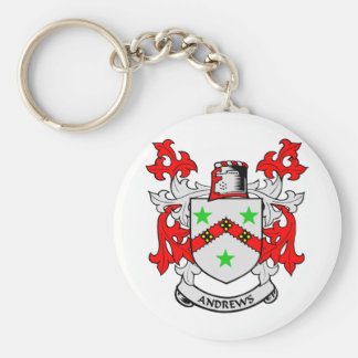 Andrews Family Crest Key Ring