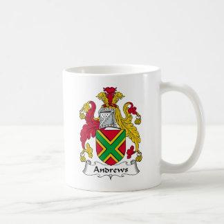 Andrews Family Crest Mugs
