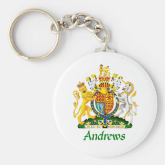 Andrews Shield of Great Britain Key Chain