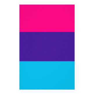 Androgyne pride flag stationery paper