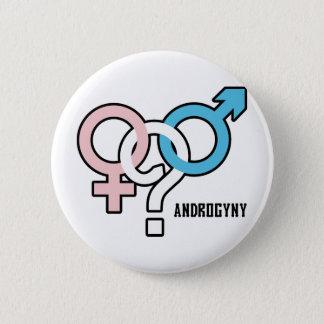 Androgyny 6 Cm Round Badge