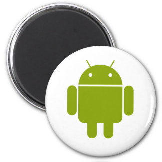Android 6 Cm Round Magnet