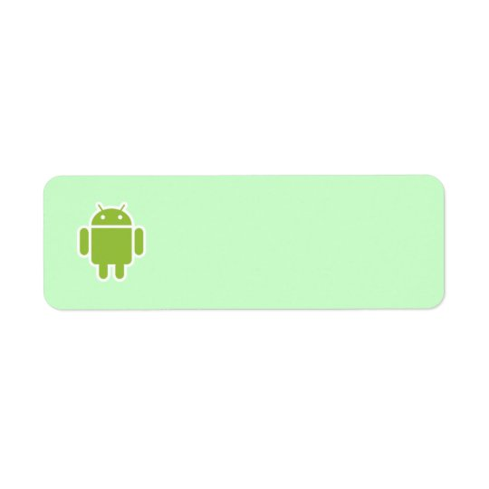 Android address label