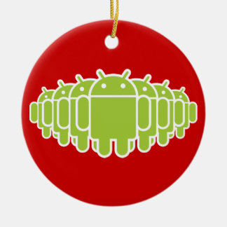 Android Army Christmas Ornament