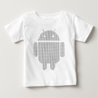 Android---Ascii black Baby T-Shirt