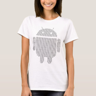 Android---Ascii black T-Shirt