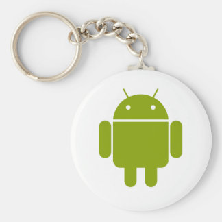 Android Basic Round Button Key Ring