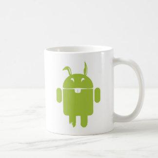 Android Easter bunny Coffee Mug