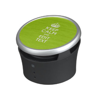 Android Green Keep Calm And Your Text Speaker