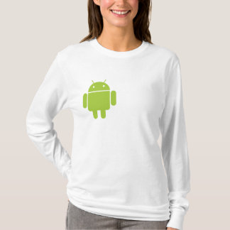 Android Ladies' Fitted Hoodie