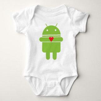 Android Love Baby Bodysuit