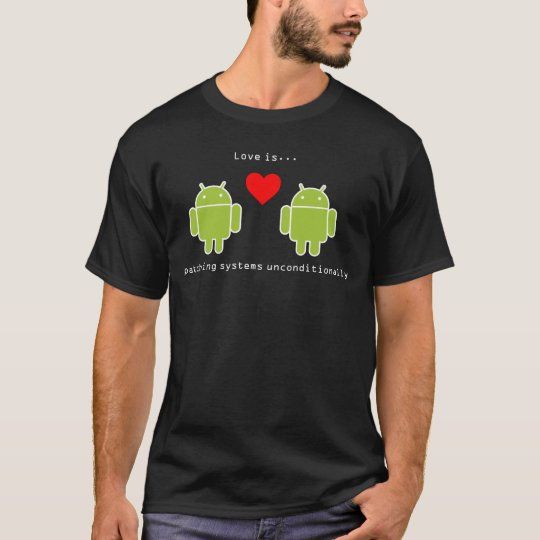 Android Love Is T-Shirt