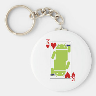 Android of Hearts Key Ring