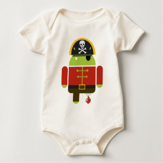 Android Pirate - Andy Baby Bodysuit