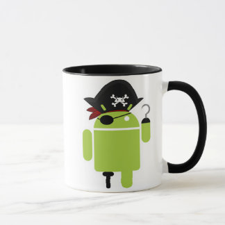 Android Pirate Mug