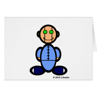 Android (plain) greeting card