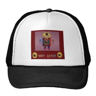 ANDROID Robot Alien Warrior Hat