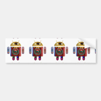 ANDROID Robot Bumper Sticker