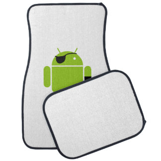 Android Robot Mighty Pirate Floor Mat