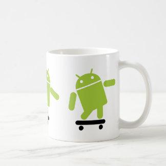 Android Skateboarding Coffee Mug
