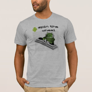 android spin the wheel T-Shirt