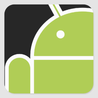 Android Square Sticker