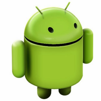Android supporter cut out