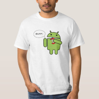 Android vs. Apple, and the winner is T-Shirt