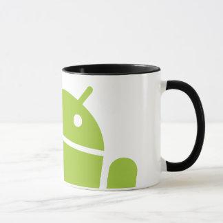 Android Waving Mug
