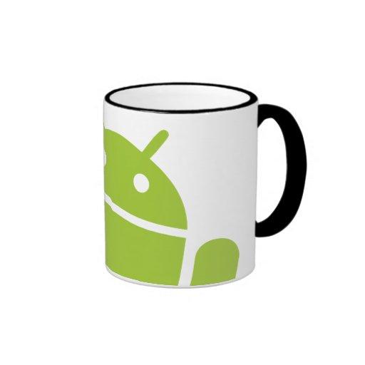 Android Waving Coffee Mug