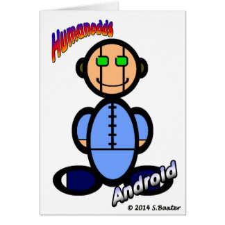 Android (with logos) card