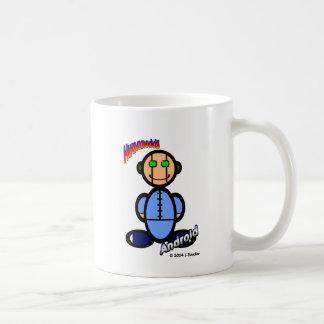 Android (with logos) coffee mug