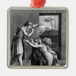 Andromache at the feet of Pyrrhus Christmas Ornament