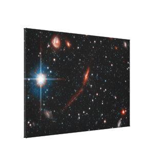 Andromeda- Andromeda Galaxy Halo.ai Gallery Wrapped Canvas