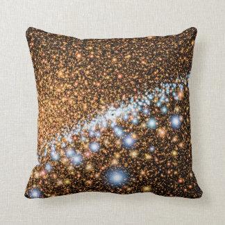 Andromeda Black Hole Blue Stars - Artist Concept Cushion
