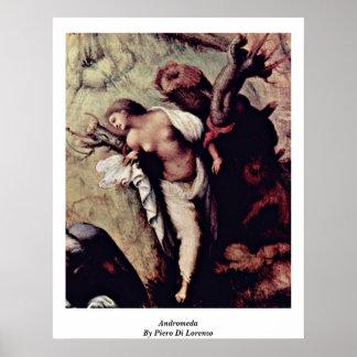 Andromeda By Piero Di Lorenzo Posters
