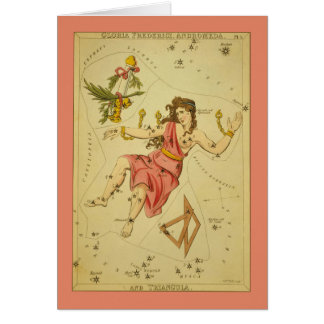 Andromeda Constellation Card