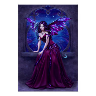 Andromeda Dragon Poster Art Print