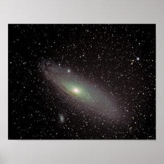 Andromeda Galaxy #11 Poster