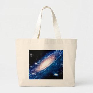 Andromeda Galaxy Canvas Bags
