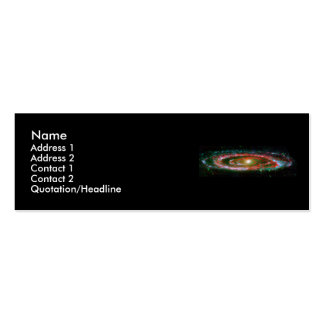 Andromeda Galaxy Double-Sided Mini Business Cards (Pack Of 20)