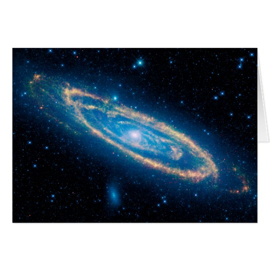 Andromeda Galaxy Card