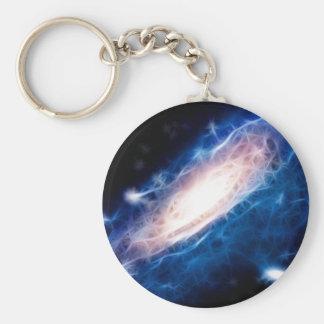 Andromeda Galaxy Keychains