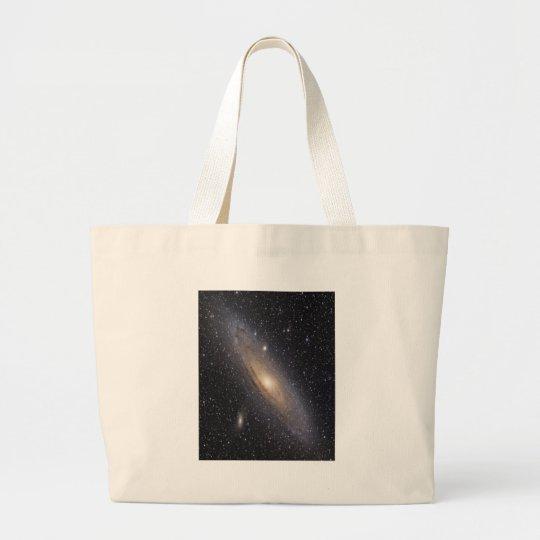 Andromeda Galaxy Large Tote Bag