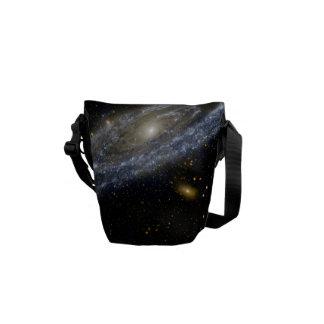 Andromeda Galaxy Messenger Bag