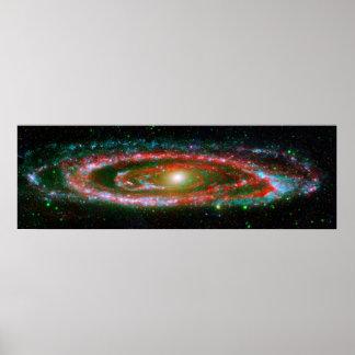 Andromeda Galaxy - Nasa Space Poster/Print Poster