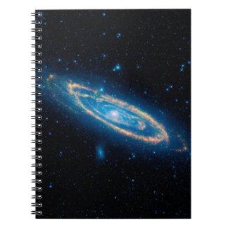 Andromeda Galaxy Notebooks