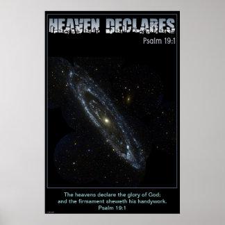 Andromeda Galaxy Poster / Print