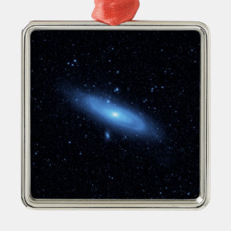 Andromeda galaxy's older stellar population christmas ornament