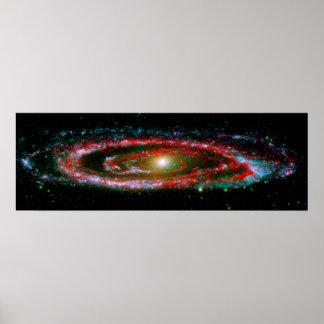 Andromeda Gallaxy Poster